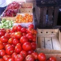 Photo taken at Jackson Heights Greenmarket by Krithika R. on 9/16/2012