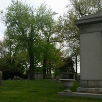 Photo taken at Oak Woods Cemetery by Michael W. on 5/17/2015