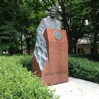 Photo taken at Pomnik Ronalda Regana by Dominik R. on 6/18/2013