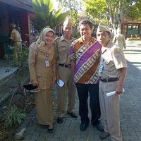 Photo taken at SMPN 1 Bawen by jully anto n. on 10/14/2013