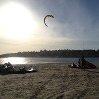 Photo taken at Escola de Kite Surf do Ratinho by Alvaro Luis C. on 12/1/2012