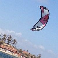Photo taken at Escola de Kite Surf do Ratinho by Alvaro Luis C. on 11/28/2012
