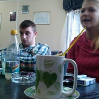 Photo taken at u kafani pored faksa by Milos B. on 2/8/2013