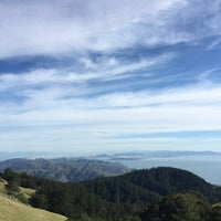 Photo taken at Mt. Tam West Peak by Tobias K. on 2/15/2015
