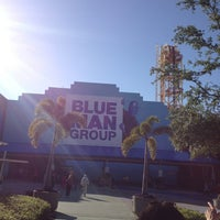 Photo taken at Blue Man Group at Universal CityWalk by Paige R. on 3/27/2013