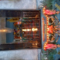 Photo taken at Kuil Shri Mariamman by Majellin E. on 10/14/2013