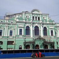 Снимок сделан в БДТ им. Г. А. Товстоногова пользователем Andrew S. 8/31/2013