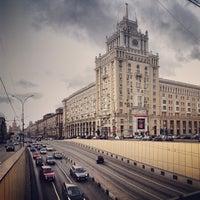 Photo taken at Triumfalnaya Square by Anton M. on 10/20/2013