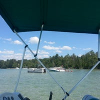 Photo taken at Elk lake sandbar by Bryan L. on 7/14/2013