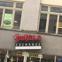 Photo taken at Buffalo Exchange by Jeremiah V. on 6/29/2017