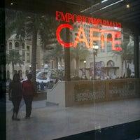 Photo taken at Emporio Armani Café- The Pearl Qatar by Jc C. on 3/29/2013