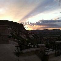 Photo taken at Kayakapi Premium Caves - Cappadocia by Murat Ali A. on 5/2/2013