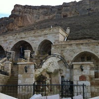 Photo taken at Kayakapi Premium Caves - Cappadocia by Murat Ali A. on 2/9/2013