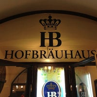 Photo taken at Hofbräuhaus by Andrew V. on 1/25/2013