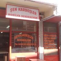 Das Foto wurde bei Şen Kardeşler Mobilya von Göksucan K. am 4/4/2014 aufgenommen