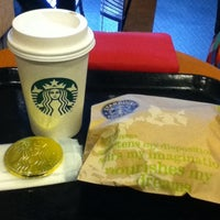 Photo taken at Starbucks by Jheny P. on 2/8/2013