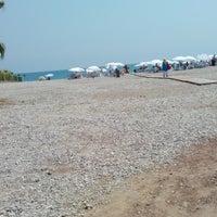 Photo taken at Sarısu Kadınlar Plajı by Esra s. on 8/17/2014