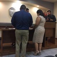 Photo taken at Registro Civil by Carla L. on 2/25/2017