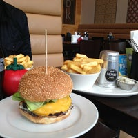 Photo taken at Gourmet Burger Kitchen by Mshari B. on 9/11/2013