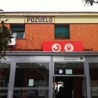 Photo taken at Cercanías Pozuelo by Kata E. on 11/18/2013