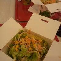 Photo taken at Salad Box by Daria G. on 10/24/2014