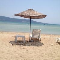 7/17/2013にYasemin A.がADÜ Plajiで撮った写真