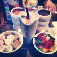 Photo taken at Max Brenner Chocolate Bar by Renato L. on 7/2/2013