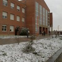 Photo taken at Facultad De Ciencias Económicas Y Empresariales by Veridiana D. on 2/27/2013