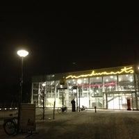Photo taken at Metrostation Meijersplein by Jeroen S. on 2/14/2013
