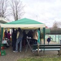 Photo taken at Tennispark Rozenrust by Jeroen S. on 3/21/2015
