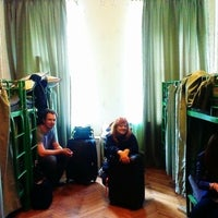 Photo taken at Old Flat Hostel by Ирина С. on 6/13/2014