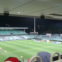 Photo taken at Pirtek Stadium by Jonathan C. on 11/2/2012
