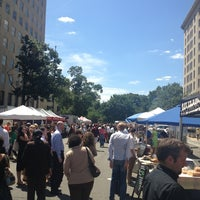 Photo taken at FRESHFARM Market by the White House by Danielle R. on 8/15/2013