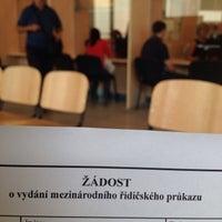 Photo taken at Registr řidičů by Alenka D. on 7/29/2015