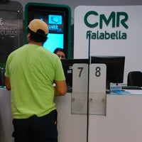 Photo taken at Falabella by Claudia A. on 2/22/2014