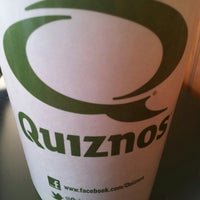Photo taken at Quiznos by Edgar R. on 3/5/2013