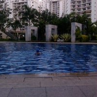 Photo taken at Prestige Swimimg Pool by Suresh T. on 2/23/2014