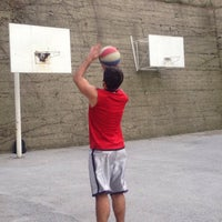 Photo taken at mercan parkı basket sahası by Furkan Ö. on 2/17/2016