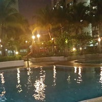 Photo taken at Swimming Pool Bayu Tasik 1 Condo by Finee R. on 5/29/2014