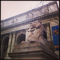 Photo taken at New York Public Library - Stephen A. Schwarzman Building Celeste Bartos Forum by Suchinda T. on 4/5/2014