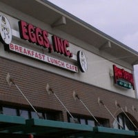 Photo taken at Eggs, Inc. Cafe by Victoria P. on 3/24/2013