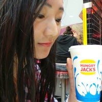 Photo taken at Hungry Jack's by Yonyon R. on 2/6/2013