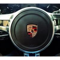 Photo taken at Centro Porsche Bari by Igor K. on 4/4/2014