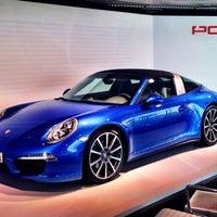 Photo taken at Centro Porsche Bari by Igor K. on 4/3/2014
