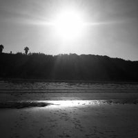 Photo taken at Playa Las Redes by Monique Jacqueline v. on 8/18/2013