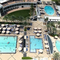 Photo taken at Eden Roc Pool by Art Y. on 7/29/2013