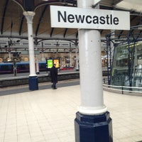 Photo taken at Newcastle Central Railway Station (NCL) by Danny L. on 1/28/2013