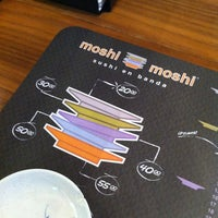 Photo taken at Moshi Moshi by Miguel B. on 1/21/2013