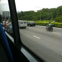 Photo taken at Tampines Expressway (TPE) by Hazlin S. on 10/29/2012