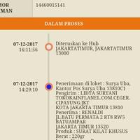 Photo taken at Kantor Pos Jakarta Timur 13000 by Renaldi R. on 12/7/2017